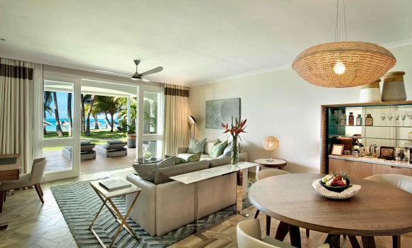 Three Bedroom Beach Front Suite