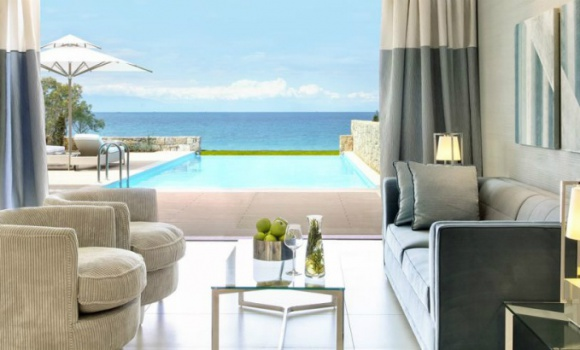 Two Bedroom bungalow suite private pool beach front
