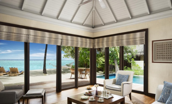 One-Bedroom Beach Villa Suite with Pool