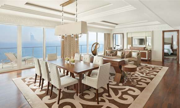 Waldorf Astoria Suite With Sea View