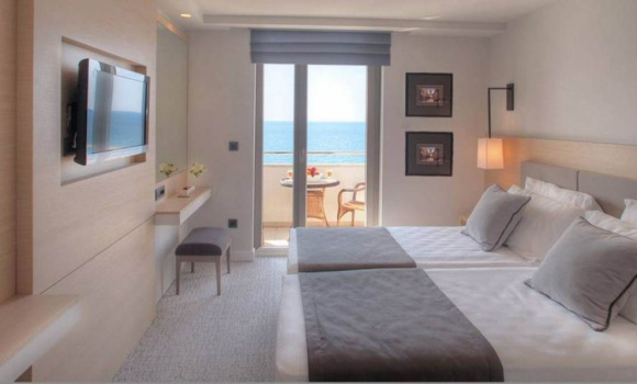 Panoramic Sea View Room with Balcony