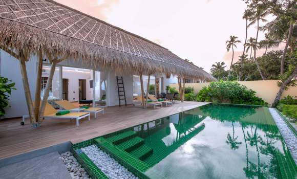 Family Beach Villas with Pool