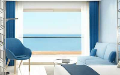 One bedroom family suite sea view