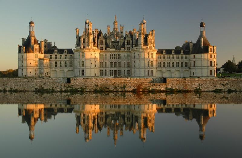 туры замки франции