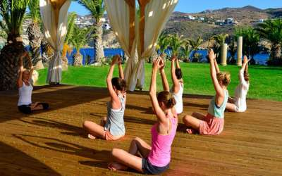 Программа Out of the Blue Cretan Yoga Delight от Capsis Elite Resort