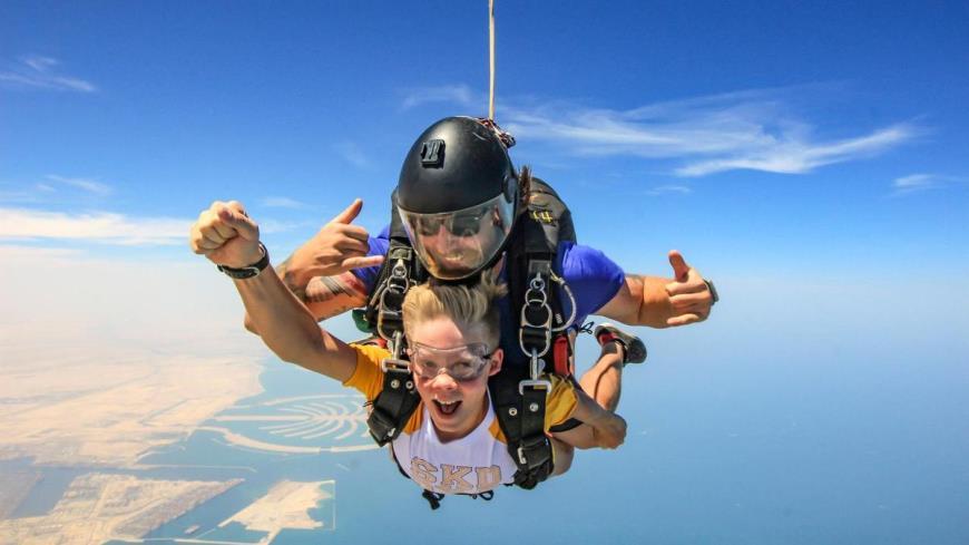 Skydive Dubai запускает новую услугу – тандем прыжки для детей