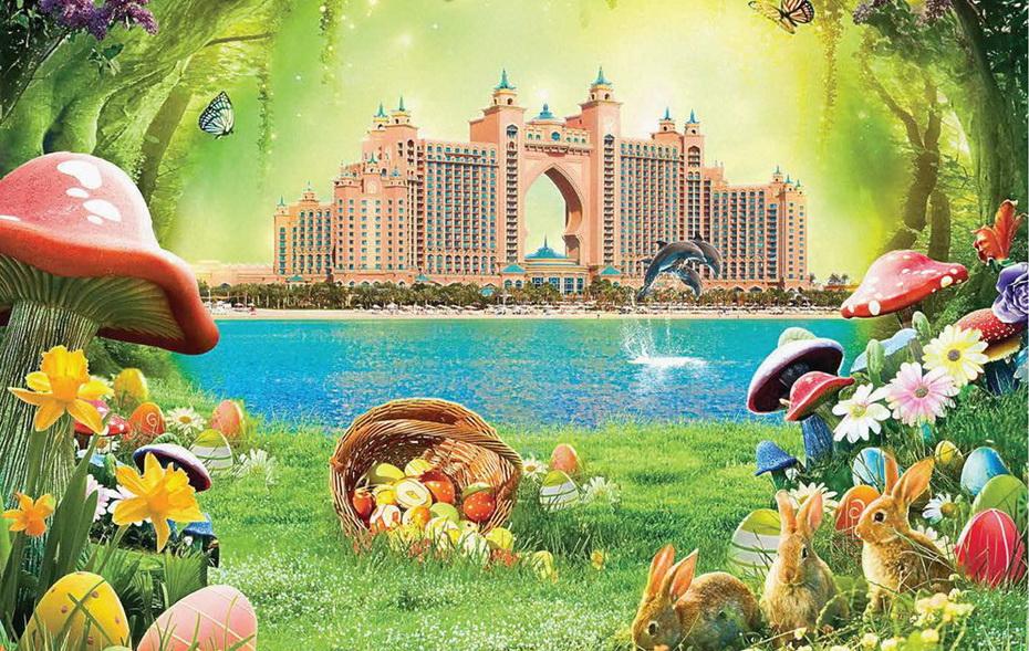 Весенние каникулы в Стране Чудес, Atlantis!