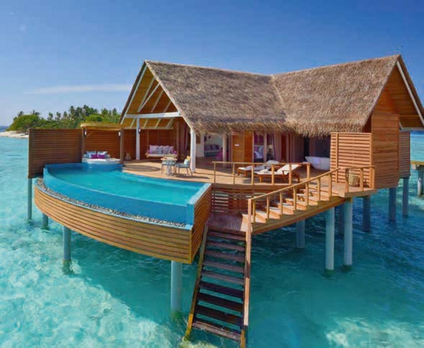 Yana Luxury Travel рассказывает об отелях на мальдивских островах